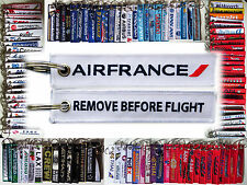 Keyring AIR FRANCE Remove Before Flight keychain for Pilot Crew