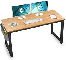 "Computer Desk 55"" Modern Sturdy Office Desk Large Writing Study Table for Home"
