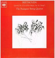 Beethoven: Quartett No 10 Op74 (Harp ) / Budapest String Quartet - LP
