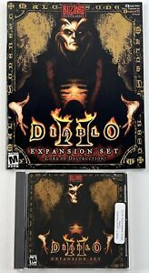 Diablo II 2 Expansion Set Lord of Destruction PC CD Video Game With CD Key # VG
