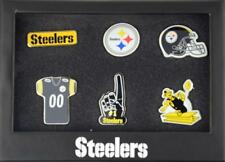 Forever Collectibles Pittsburgh Steelers 6 Piece Pin badge set le PINS NFL NEW