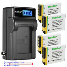 Kastar Battery LCD Wall Charger for Kodak KLIC-7003 Kodak EasyShare M420 Camera