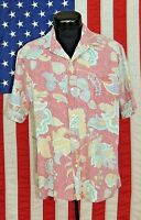 Rare VTG Reyn Spooner Made Hawaii Hawaiian Shirt Tiki Aloha Floral Tribal HI RP