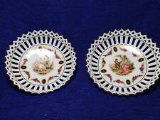 Porcelain Trinket Dish Germany Reticulated edges