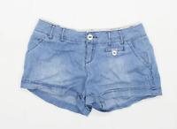 Womens Authentic Denim Blue Denim Shorts Size 8/