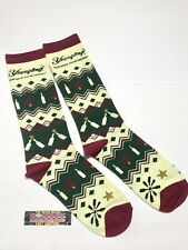 Yuengling Brewery 2019 Ugly Christmas Sweater Beer Socks - Brand New In Bag!