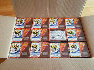 Panini World Cup South Africa 2010 case: 12x sticker box/display,12x100 packets