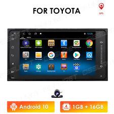 GPS Navigation Android 10 Car Stereo Radio WIFI BT For Toyota Land Cruiser Prado