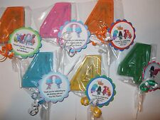 12 Dreamworks Trolls Themed Gourmet 4th Birthday Party Favors with custom tags