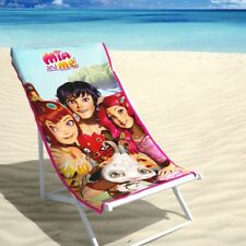 SERVIETTE DE PLAGE DISNEY « Mia & Me Friends» 70 x 140 CM