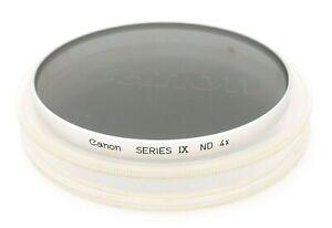 CANON SERIES IX ND 4x NEUTRAL DENSITY FILTER - UK DEALER