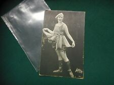 "Vintage 1920's MYRTLE REEVES Publicity Photo by WITZEL~ 3-3/8"" x 5-3/8"" O. Hardy"