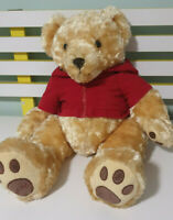MYER TEDDY BEST FRIENDS BAILEY RED HOODIE PROMOTIONAL CHRISTMAS TEDDY BEAR 50CM!