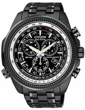 Citizen Eco-Drive Men's BL5405-59E Perpetual Calendar Chronograph Black Watch