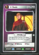 Star Trek CCG All Good Things Card Shandor 15P
