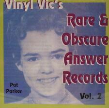 VINYL VIC'S 'Rare & Obscure Answer Records' - Vol# 2 - 30 VA Tracks