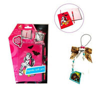 Monster High Pink  Agenda With Pen & Creeperific Charm - Cleo De Nile