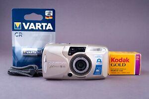Olympus Mju III 80 Quartz Date 35mm Point&Shoot Film Camera