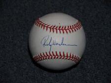 *** RICKEY HENDERSON *** Single Signed ONL Baseball HOF Autographed Auto
