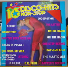 INTERNATIONAL DISCO BAND 16 DISCO-HITS NON STOP VOL.14 SEXY COVER FRENCH LP