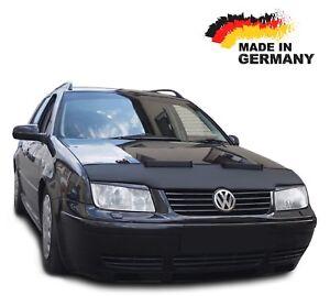 Bonnet Bra VW Bora Stoneguard Protector Front Car Mask Cover Tuning Black Bull