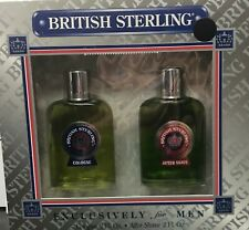 British Sterling Original 90 's 2 oz Cologne , 2 oz After Shave Set