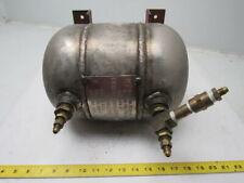 Buckeye Mfg 1 Gallon High Pressure Industrial Stainless Steel Air Tank 800 Psi