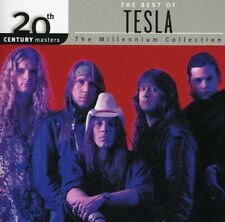 20th Century Masters: The Best of Tesla (Cd, Jun-2001, Geffen) *New* *Free Ship*
