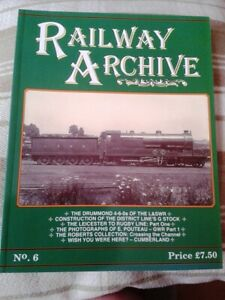 Railway Archive - Issue 6 - Published by Lightmoor Press 2004