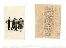 Vintage  Photo 1928 CHARLES LINDBERGH Anne Morrow Miami Airiport