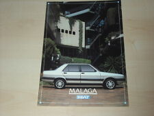 51471) Seat Malaga Prospekt 1988