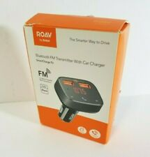NEW Anker Roav SmartCharge F0 Bluetooth FM Transmitter with Car Charger