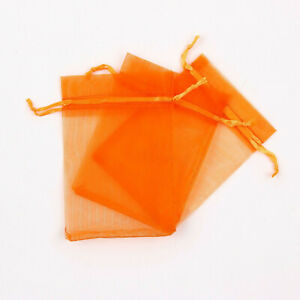50Pcs Sheer Organza Wedding Xmas Party Favor Gift Candy Bags Jewelry Pouches