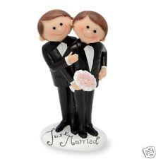 SAME SEX WEDDING CAKE TOPPER CIVIL PARTNERSHIP FEMALE OR MALE COUPLE