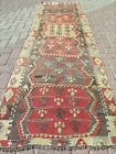Antique Turkish Kilim Runner  Carpet Runner  Hallway Kelim  Corridor Rug 33X109