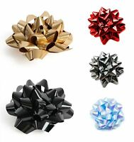 6 X Luxury Gift Bows Large Birthday Present Wrapping Paper Christmas Xmas 6CM