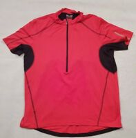 Urban Active Unisex Red Cycling Jersey Size XL Vintage Retro Cycling Shirt