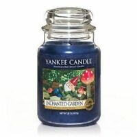 ☆☆Yankee candle☆☆ Enchanted Garden  Large Jar Candles,Fresh Scent