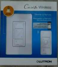 LUTRON CASETA WIRELESS DIMMER AND REMOTE P-PKG1W-WH- BRAND NEW - FREE SHIPPING
