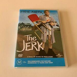 THE JERK - DVD - STEVE MARTIN - R4 - VGC - FREE POST
