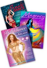 Egyptian Belly Dance #2 Intermediate-Advanced 3-DVD set