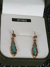ANTIQUE 9CT GOLD EARRINGS