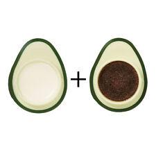 SkinFood Avocado Olive Lip Balm + Avocado Sugar Lip Scrub Set