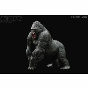 """REBOR Alpha Male Mountain Gorilla """"Gorilla Z"""" (Patriarch) 1/11 Scale Replica"""