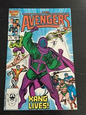 Avengers#267 Incredible Condition 9.4 Kang App(1986) Buscema Art!!