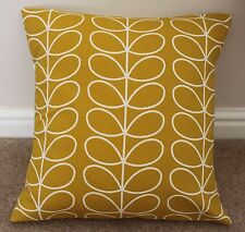 "ORLA KIELY LINEAR STEM CUSHION COVER IN DANDELION 16 X 16"" HANDMADE"
