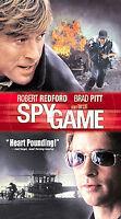 Spy Game (VHS VCR Tape Movie)  Robert Redford & Brad Pitt