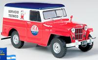 IKA Estanciera 1965 Service Truck Argentina Rare Diecast Scale 1:43 +Magazine