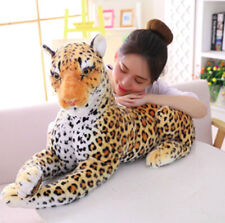 Leopard Panther Stuffed Animal Panther Cartoon Animal Plush Toys For Kids 40cm