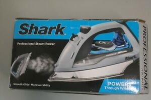 Shark GI405 Professional 1600W One-Touch Steam Stainless Steel Power Iron (OB8B)